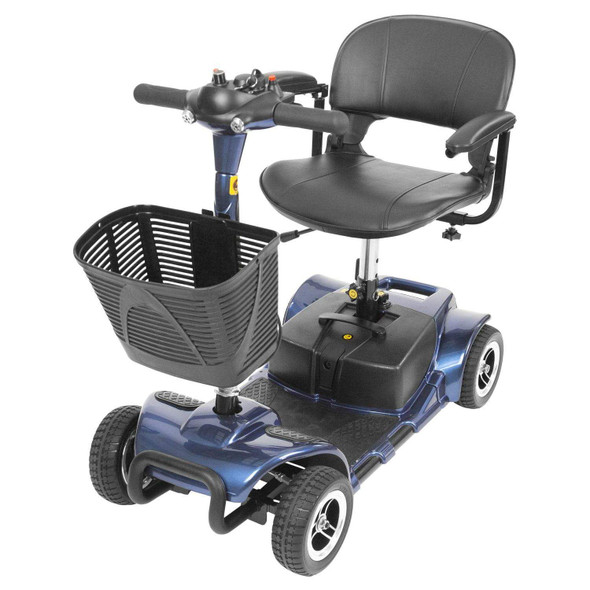 Vive Health 4-Wheel Mobility Scooter Blue