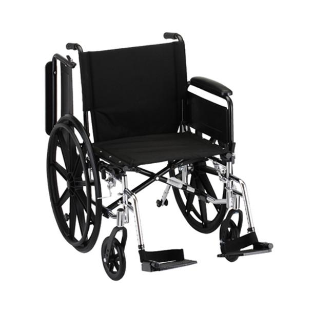 Nova 7201 20″ Lightweight Wheelchair Full Arms