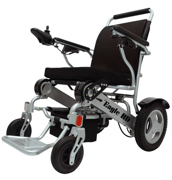 Eagle HD Folding Heavy-Duty Bariatric Power Wheelchair