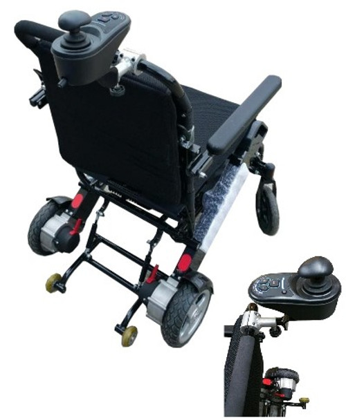 Eagle HD Folding Heavy-Duty Bariatric Power Wheelchair Attendant Control