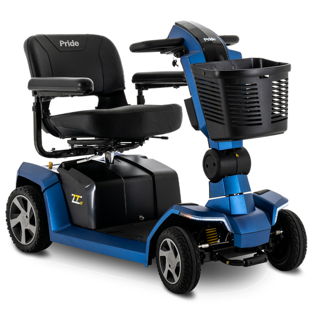 Pride ZT10 Zero Turn 4-Wheel Scooter in Blue