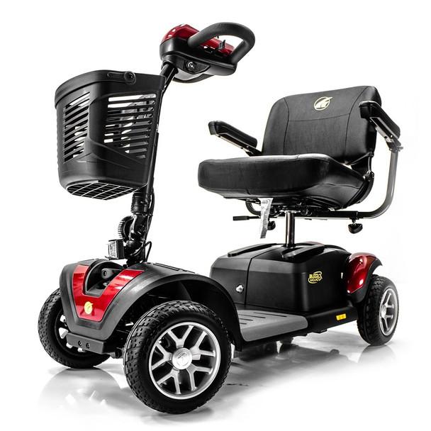 Buzzaround EX 4-Wheel Scooter in Red
