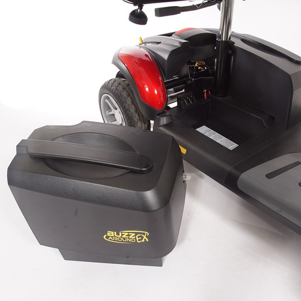 Buzzaround EX 4-Wheel Scooter removable battery