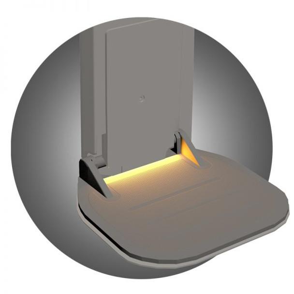 Freecurve Illuminated Footrest