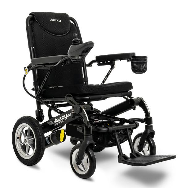 Jazzy Passport (Black) Folding Power Chair
