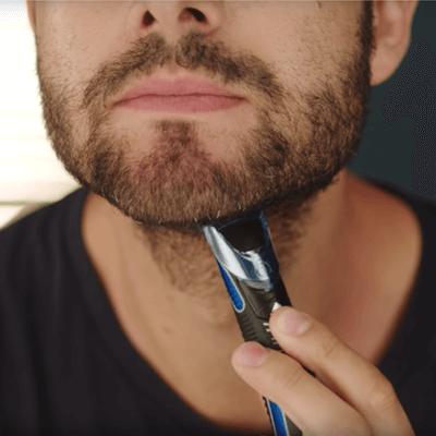 Scruffy Beard Styles: The 3-Day Stubble Beard