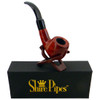 "5"" Bent Apple Rosewood Shire Pipe"