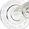 """Hoss Glass 18"""" 38mm Straight Tube w/ Embossed Base & Coloured Logo"""