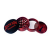 "Red Death Row Records Infyniti 4-Piece 2.2"" Pollinator Grinder"