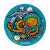 "Pulsar 10"" 5mm Psychedelic Beaker w/ Ice Pinch - Octopus"