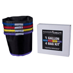 Boldtbags 1-Gallon 4-Bag Filter Bag Kit