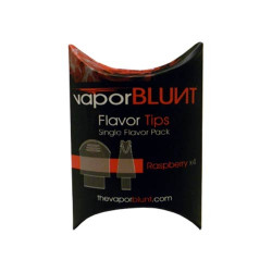Vapor Blunt Mouthpiece Tips - Raspberry (4 pk)