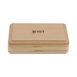 "RYOT 3"" x 5"" Slim Pollen/Shaker Box - Natural Finish"