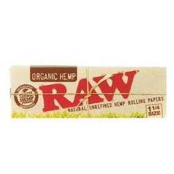 Raw Organic Unbleached 1 1/4