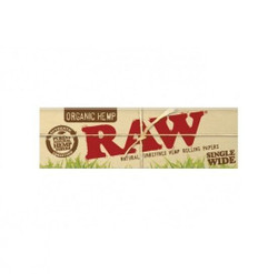 Raw Organic Unbleached Single Wide 1.0 Double Window