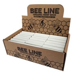 Bee Line Hemp Wick - Regular 21pk