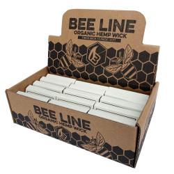 Bee Line Hemp Wick - Thick 15pk
