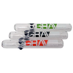 "7"" 25mm Steam Roller Ash Mouthpiece by Grav Labs"