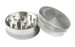 """SharpStone 1.5"""" 2 Piece Grinder - Silver"""