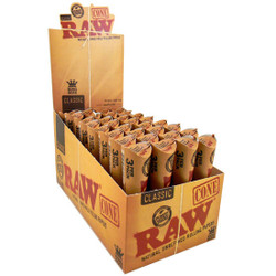 Raw Classic Unbleached Cones King Size 3 per Pack