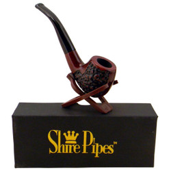 Engraved Bowl Rosewood Shire Pipe