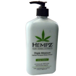 Hempz Whipped Triple Moisturizer 17 oz.