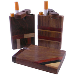 Inlay Dugout Large - Hardwood Smoker's Box