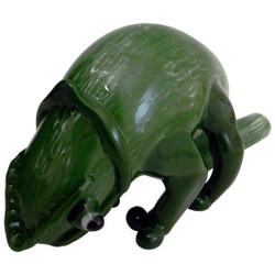Sculptured Chameleon by Chameleon Glass