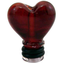Dry Tips Mouthpiece Heart by Empire Glass