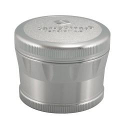 SharpStone 4 Piece Version 2.0 Grinder Pollinator 2.2 - Silver