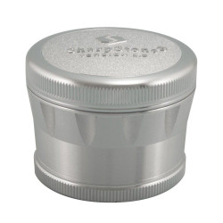 SharpStone 4 Piece Version 2.0 Grinder Pollinator 2.2 - Silver