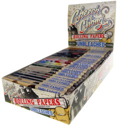 Cheech & Chong Unbleached 1 1/4 Papers