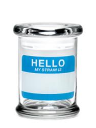 420 Science Pop Top Jar Medium - Hello Write & Erase