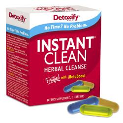 Detoxify Instant Clean 3 Caps