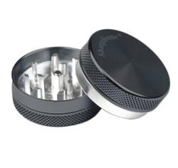 "SharpStone 2-Piece Grinder Colored 2.2"" - Black"
