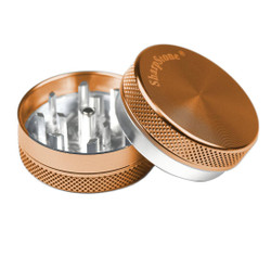 "SharpStone 2-Piece Grinder Colored 2.2"" - Brown"