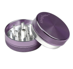 "SharpStone 2-Piece Grinder Colored 2.2"" - Purple"