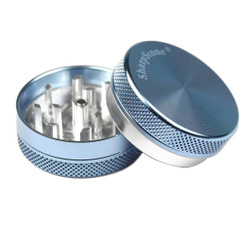 "SharpStone 2-Piece Grinder Colored 2.2"" - Blue"