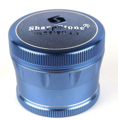 "SharpStone 4-Piece V2 Grinder Pollinator Colored 2.2"" - Blue"