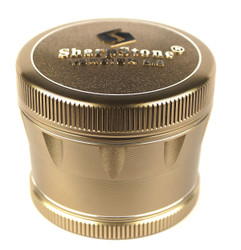 "SharpStone 4-Piece V2 Grinder Pollinator Colored 2.2"" - Bronze"