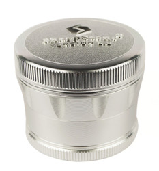 "SharpStone 4-Piece Version 2.0 Grinder Pollinator 2.5"" - Silver"