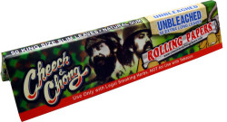 Cheech & Chong Unbleached King Size Papers 50 packs per box