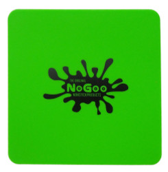 """NoGoo Nonstick Silicone 7"""" x 7"""" SLAB-IN-IT Tray - Green"""