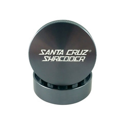 Santa Cruz Shredder Large 2-Piece Grinder 2.75 - Gunmetal grey