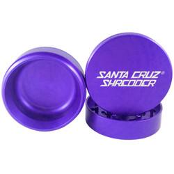"Santa Cruz Shredder 3-Piece Grinder Large 2.75"" - Purple"