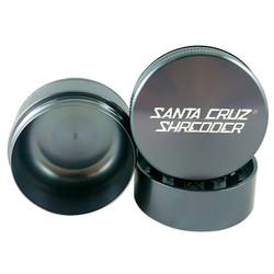 "Santa Cruz Shredder 3-Piece Grinder Medium 2.2"" - Gunmetal Grey"