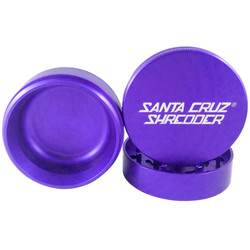 "Santa Cruz Shredder 3-Piece Grinder Medium 2.2"" - Purple"