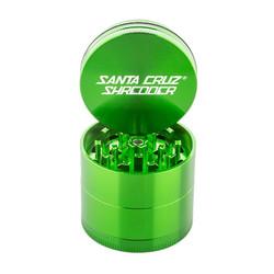 "Santa Cruz Shredder Small 4-Piece Pollinator 1.5"" - Green"