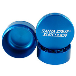 "Santa Cruz shredder 3-piece Grinder large 2.75"" - Blue"