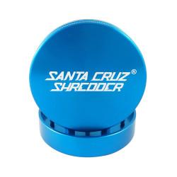 "Santa cruz shredder large 2 piece grinder 2.75"" - Blue"